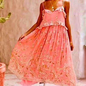 NWOT Spell & The Gypsy Hendrix Strappy Maxi Dress